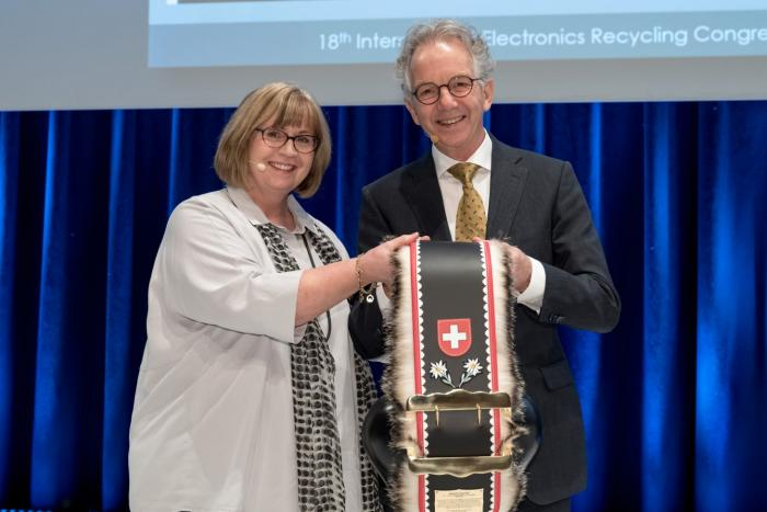 IERC Salzburg Honorary Award 2019 for Norbert Zonneveld (EERA)